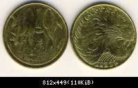 #DB04 - 10 Santim, EE 1996, Royal Mint