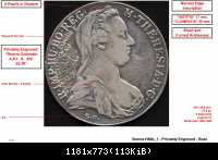 SF - Vienna - H49a 1 - Privately Engraved - Bust LR