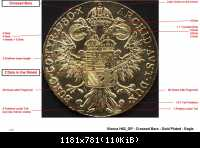 SF - Vienna - H62 GP - Crossed bars - Gold Plated - Eagle LR